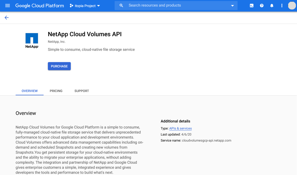 High Performance File Storage with NetApp Cloud Volumes